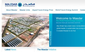 Masdar City geothermal wells with 95 centigrade hot water