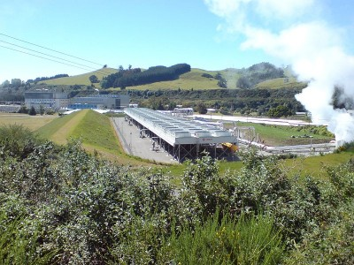 Geothermal now represents 14% of all power generated in New Zealand