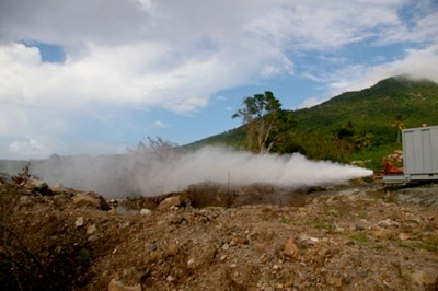Developer of Nevis geothermal project seeking funding from OPIC