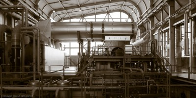 Research on use of supercritical carbon dioxide instead of steam in turbines