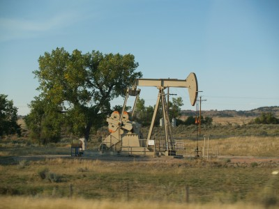 Co-production geothermal energy from oil wells