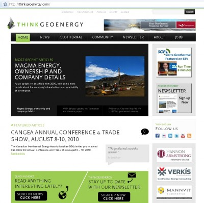 ThinkGeoEnergy website up and running after attack