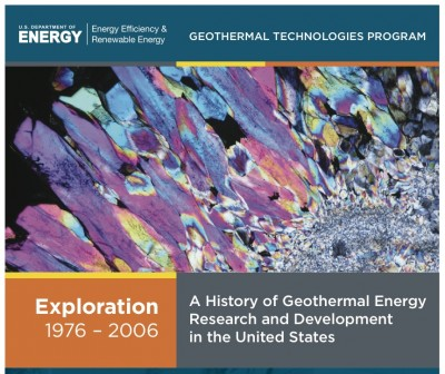 Policy Fellowships available at DOE Geothermal Technologies Office