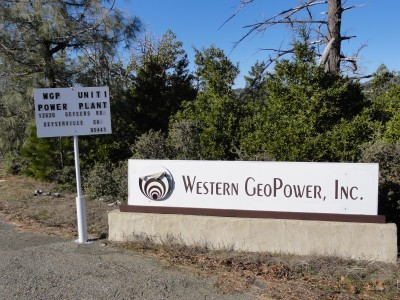 Western GeoPower receives permit for its Unit 1 project at The Geysers