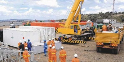 Menengai project by GDC with first successful well at 8 MW