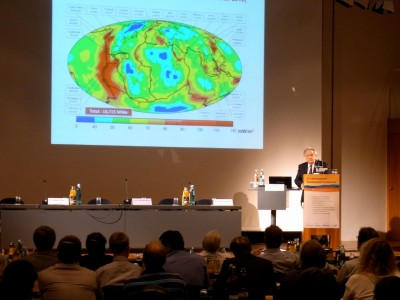 International Geothermal Conference, Freiburg as center of sector for 3 days