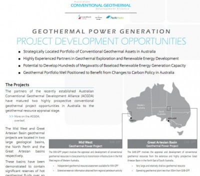 Green Rock Energy joins forces on power development with Pacific Hydro