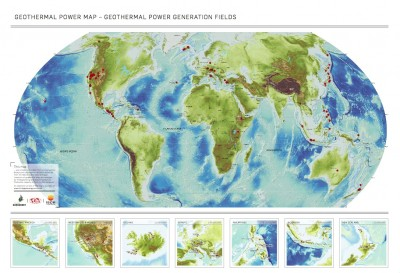 ISOR and ThinkGeoEnergy publish Global Geothermal Power Map