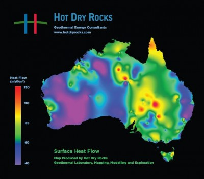 Hot Dry Rocks says Australia blessed with vast geothermal reserves