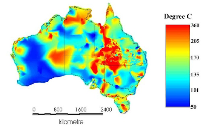 new project to map geothermal resources in sedimentary basins around australia