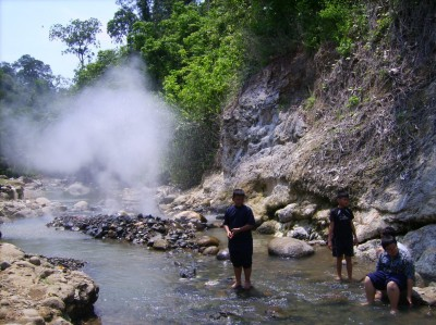 Geothermal accounts for roughly 11% of power in the Philippines