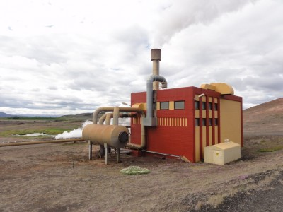 Collecting pictures of geothermal plants around the world