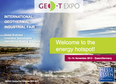 Turkey to be partner country for Geo-T Expo 2013 in Essen Germany