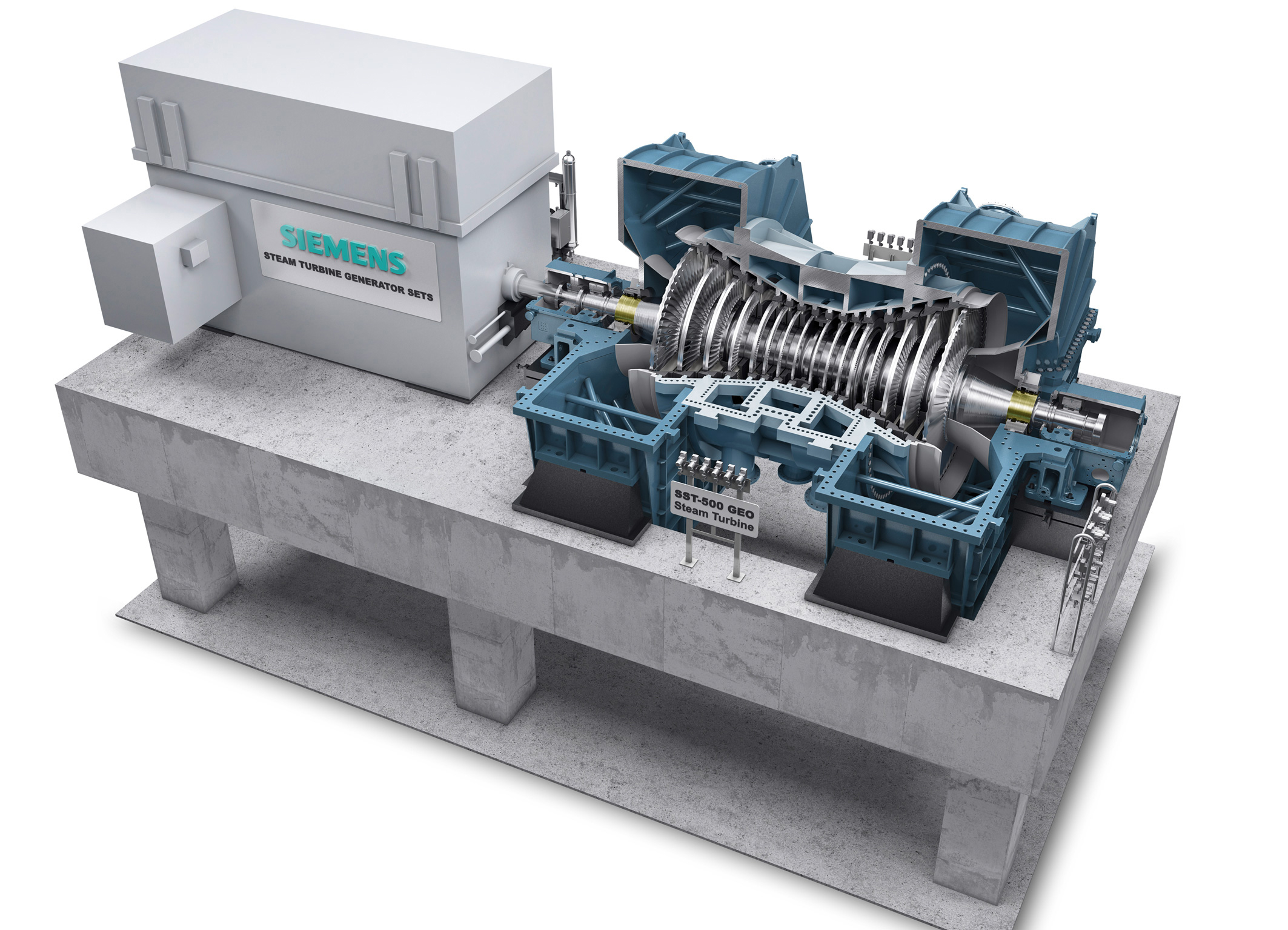Siemens launches new geothermal turbine for up to 120 MW