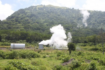 Volcanic danger also geothermal hope for Montserrat