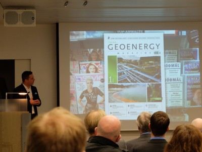 ThinkGeoEnergy launch event for its magazine in Iceland