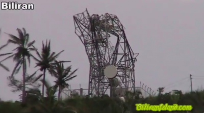 Typhoon Haiyan creates huge destruction on Leyte Island, Philippines