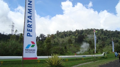 Challenged by oil prices, Pertamina increases geothermal production