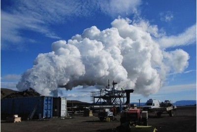 Deriving power from volcanic geothermal systems and the IDDP project