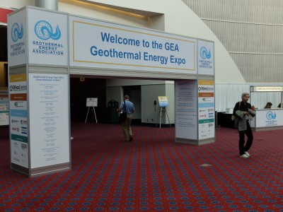 GEA Geothermal Expo, Portland – Pictures pre-opening