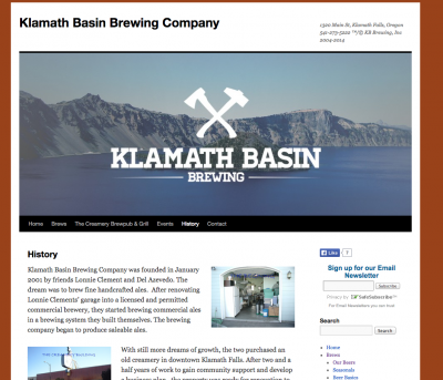 Geothermal Beer from Klamath Falls, Oregon