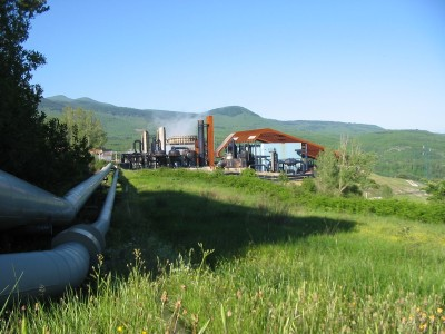 Enel serves around 2.5 million households with geothermal power in Italy