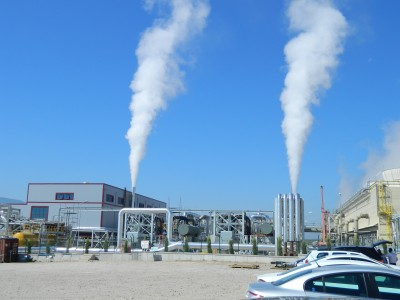 New plant producing commercial CO2-gas from geothermal plant in Turkey