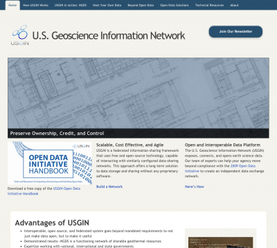 Company formed around U.S. National Geothermal Data System