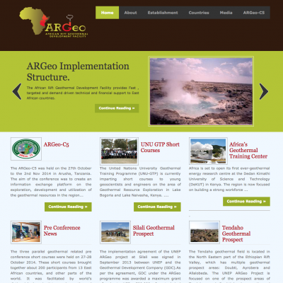 Video: Introduction to African Rift Geothermal Facility of UNEP