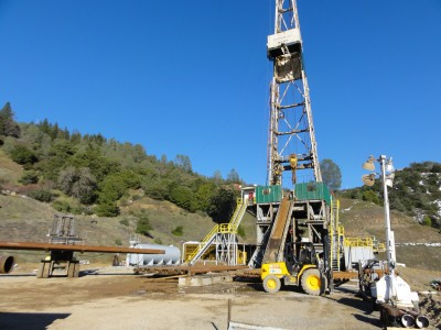For Sale: Drilling Rig 108 by geothermal drilling company ThermaSource