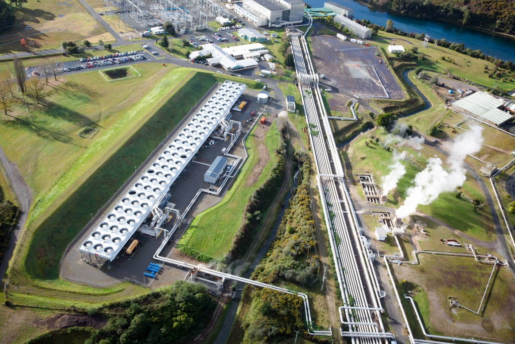 Te huka binary power station