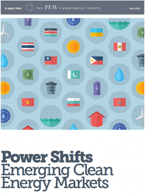 New Report: Clean Energy investment shifting to developing economies