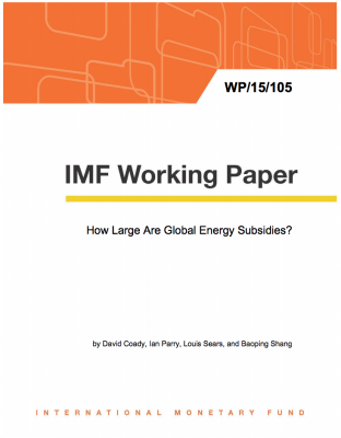 Article: IMF destroying best arguments against clean energy