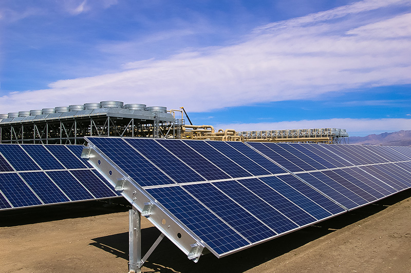 Video Hybrid Geothermal And Solar Power Plant Of Enel In