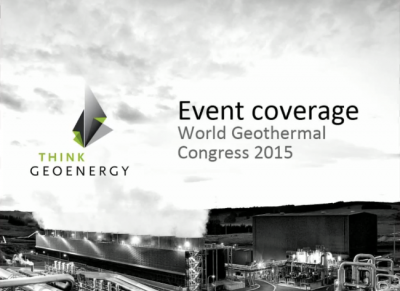 World Geothermal Congress 2015 – Before the start