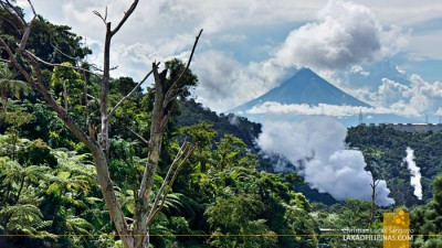 Nature conservation at the BacMan geothermal plant, Philippines