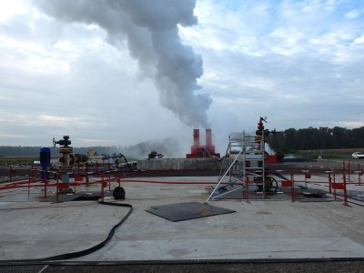 Geothermal project in Strasbourg/ France drills hottest well in Central Europe