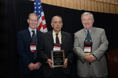 GRC Geothermal Pioneer Award 2015 for Prof. Alfredo Lahsen, Chile