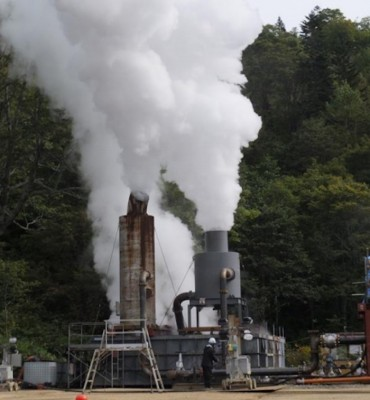 Small players pushing geothermal agenda in Japan