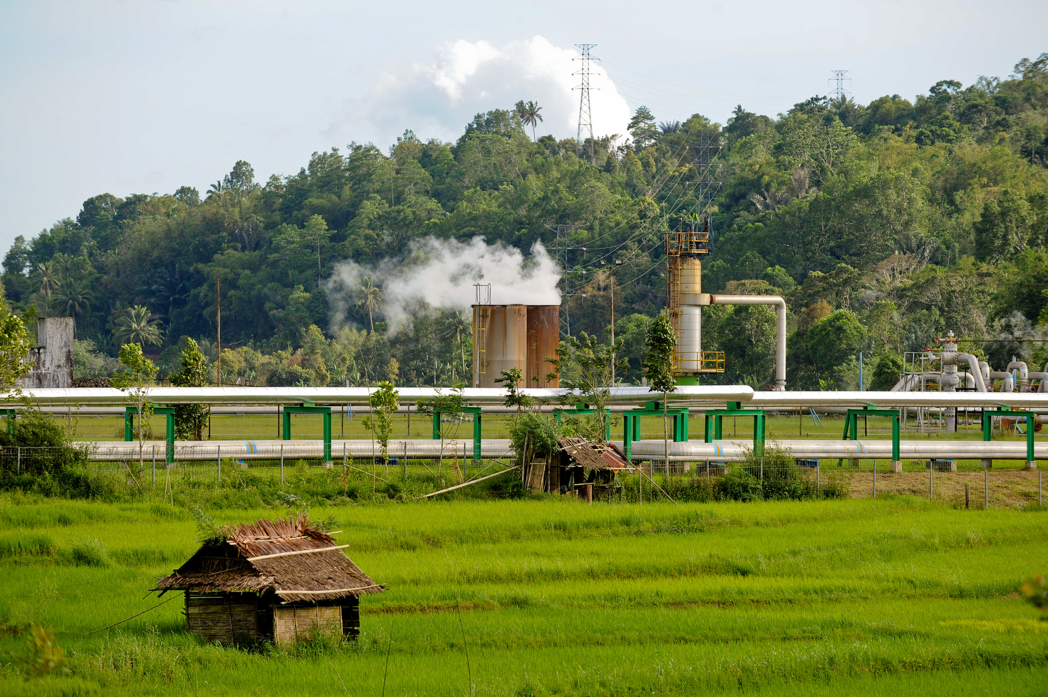 Four geothermal plants expected to start operation in Indonesia