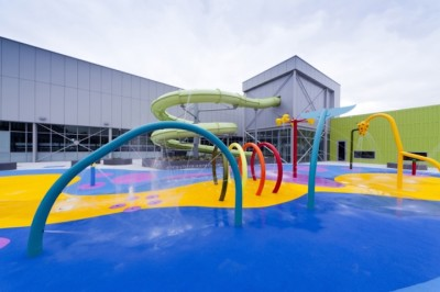 Geothermal direct use project heating sports complex in Australia