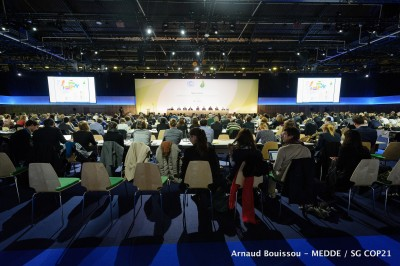 Geothermal events at the climate change talks in Paris COP21