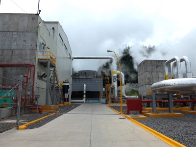 Important clean energy role of Los Azufres geothermal plant in Mexico
