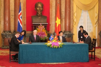 Iceland and Vietnam sign partnership agreement on geothermal energy