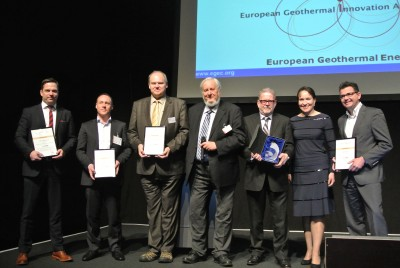 Five companies nominated for the European Geothermal Innovation Award 2016