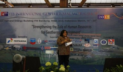 ITB International Geothermal Workshop releases program
