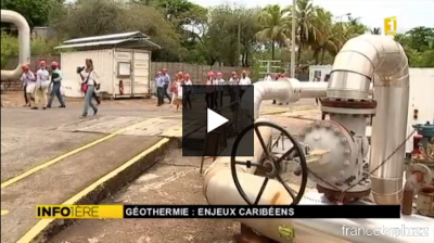 Video: French TV on a visit to the Bouillante geothermal plant in Guadeloupe