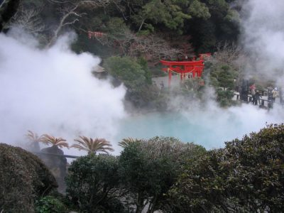 Successful operation of small-scale geothermal plant beside Onsen, Japan