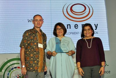 EDC wins best ASEAN Sustainability Report Award