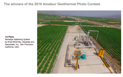 GRC announces winners of Annual Geothermal Photo Contest